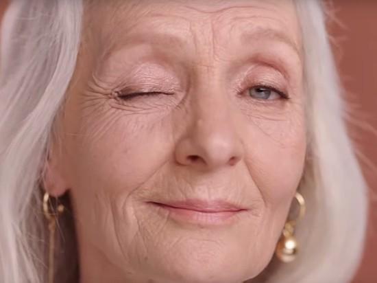 Пенсионерка из Петербурга стала лицом международной косметической компании
