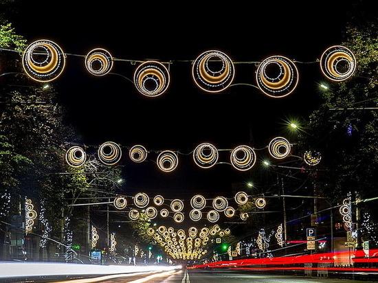 Воронеж в свете «огней сельской дискотеки»