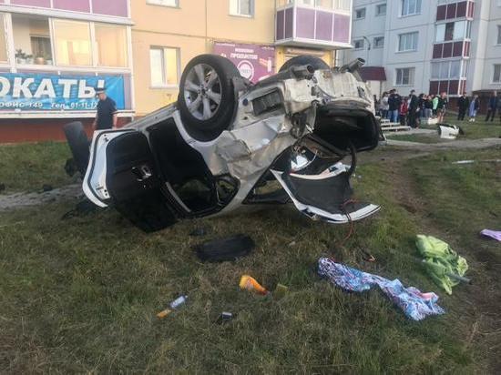 В ДТП в Ангарске погибла девушка