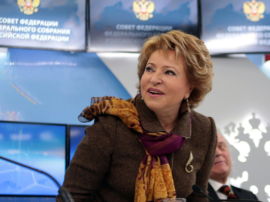Матвиенко в третий раз переизбрали на пост главы Совфеда