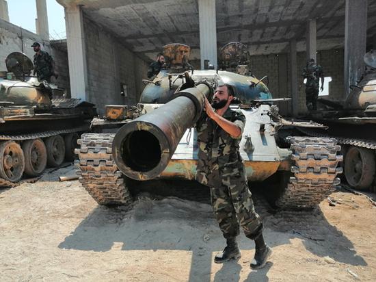 Сирийский полковник назвал лучший советский танк