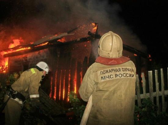 В Дорогобужском районе Смоленской области сгорело здание почты