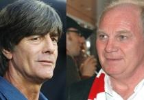 """Президент """"Баварии"""" Ули Хеннес заявил, что чемпионы Германии не будут отпускать своих игроков с борную Германии, если в воротах сборной будет стоять на Мануэль Нойер из """"Баварии"""", а Андре Тер-Штеген из """"Барселоны""""."""