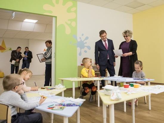 Владимир Нетёсов посетил крупнейший воронежский детский сад