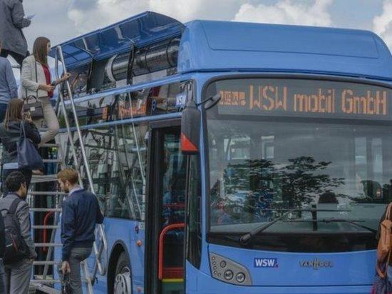 В Германии полученный из мусора водород используют для автобусов