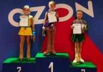 Юные серпуховички стали лучшими на областных соревнованиях по фигурному катанию