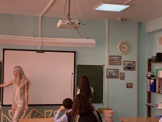 В красноярских школах начали ставить камеры наблюдения прямо в классах