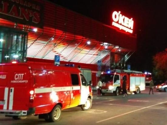 В Новосибирске горел ресторан «Максимилианс»