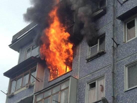 На Дону во время пожара в жилом доме пострадал мужчина