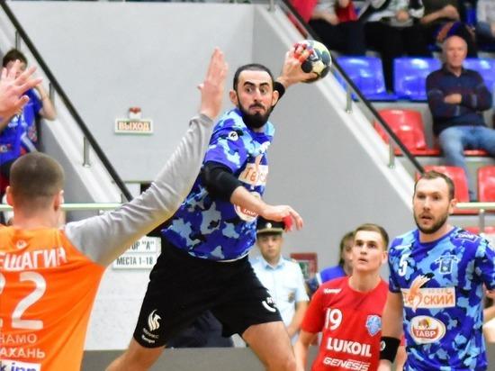 Четвертую победу одержали гандболисты из Ставрополя