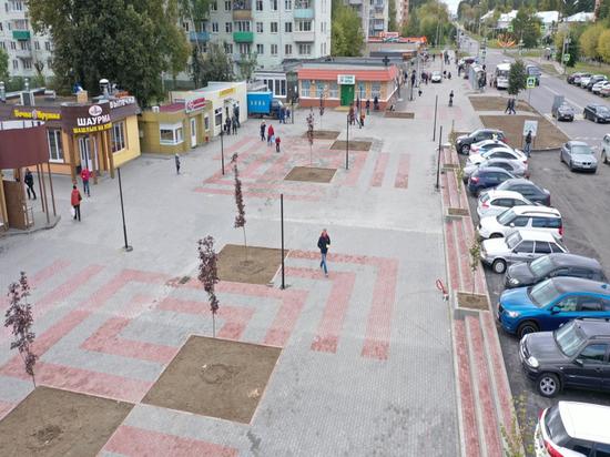 От вокзала до улицы Чернышевского в Серпухове ведется масштабное благоустройство