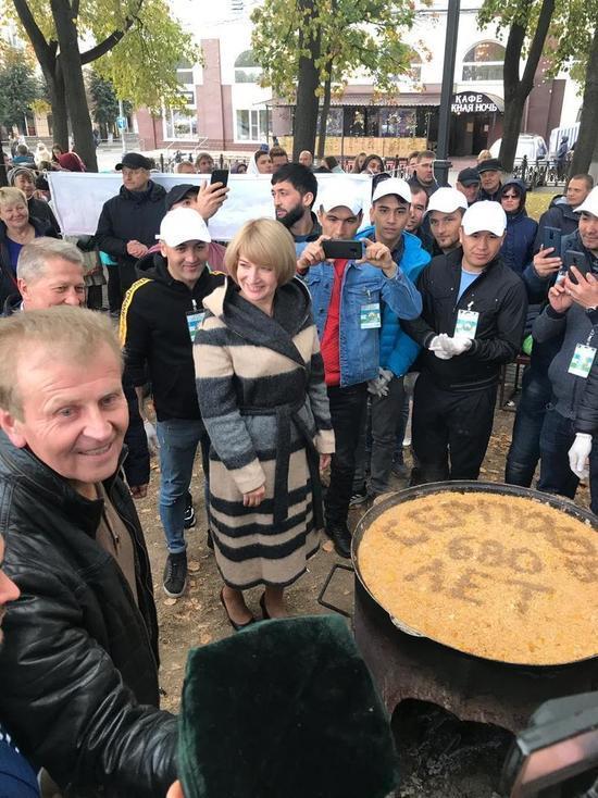 Плов Дружбы объединил сотни серпуховичей