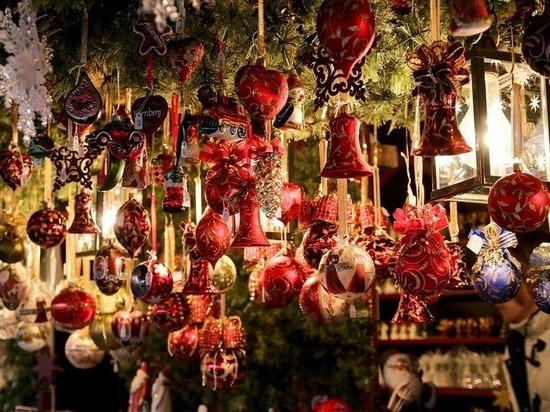 Рождественская ярмарка пройдет в центре Петербурга