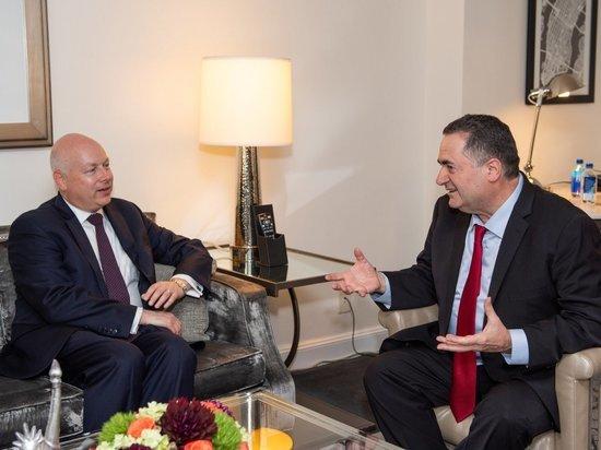 Исраэль Кац встретился со спецпредставителем президента США на Ближнем Востоке
