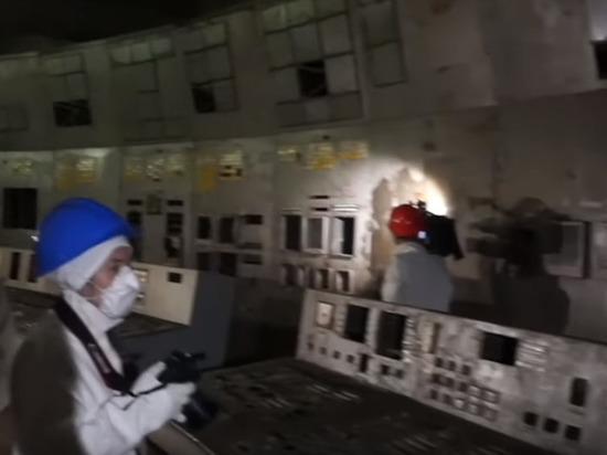 Опубликованы кадры изнутри диспетчерской Чернобыльской АЭС