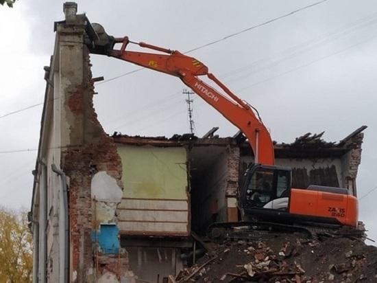 Старинный особняк сносят в центре Иркутска