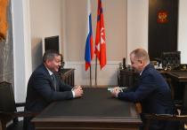 Андрей Бочаров обсудил совместную работу с лидером волгоградских эсеров