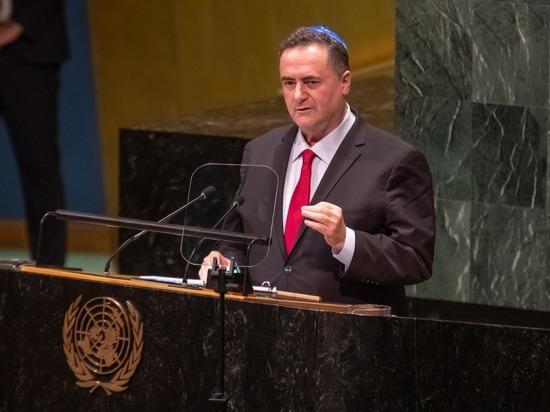 Министр Исраэль Кац представил в ООН позицию Израиля по мировым проблемам
