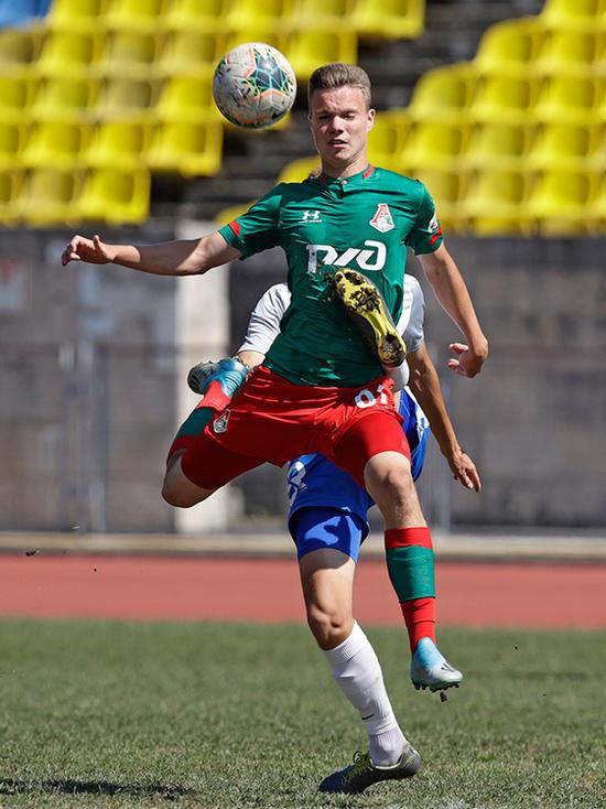 «Локомотив» обыграл «Зенит» в матче молодежного первенства России