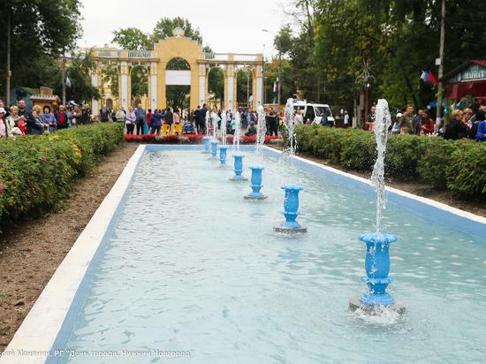 Аллея фонтанов откроется в Автозаводском парке 28 сентября