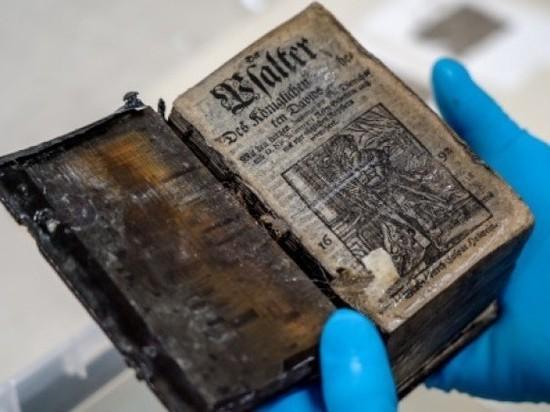 На дне Балтийского моря нашли Псалтырь, пролежавший в воде 295 лет