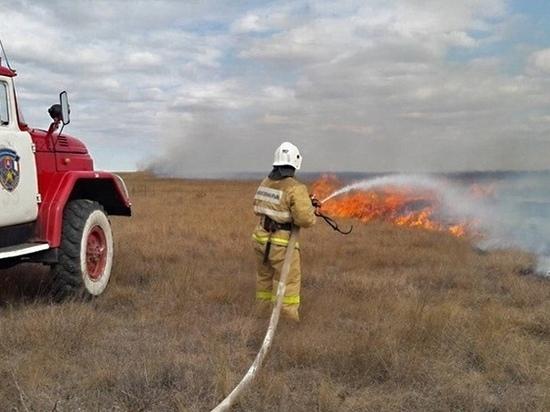 В Крыму на четыре дня введен режим высокой пожарной опасности: табу
