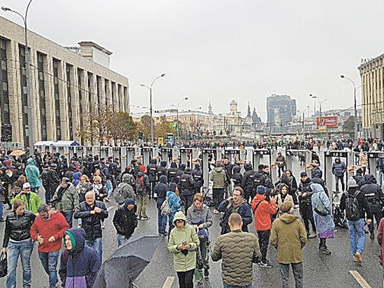 Митинг за свободу фигурантов «московского дела» завершился без задержаний
