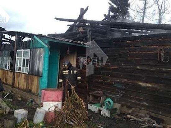 Две девочки погибли на пожаре в Аларском районе