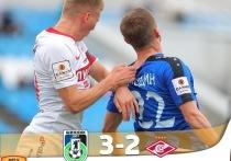 «Шинник» одержал победу над «Спартаком-2»