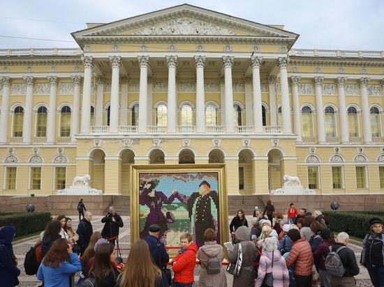 Посетители Русского музея съели картину Репина «Какой простор!»