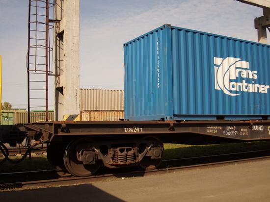 Первый «Флекси-поезд Европак» отправился из Барнаула в Китай