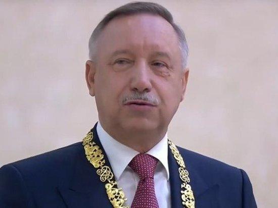 Александр Беглов ушел в отпуск, оставив Петербург на Любовь Совершаеву