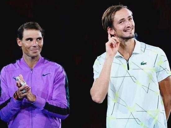 Нарендра Моди внимательно слушал речь Медведева после финала US Open-2019