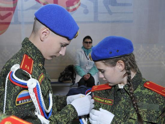 Школьники Ноябрьска стали лучшими в военно-прикладном спорте