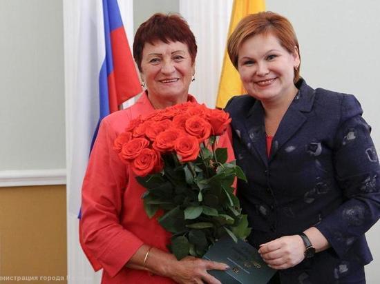 Сорокина поздравила с днем рождения Почетного гражданина Рязани Зинаиду Курицыну