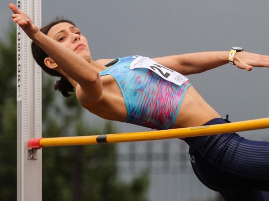 Мария Ласицкене выиграла золото на ЧМ по легкой атлетике в прыжках в высоту