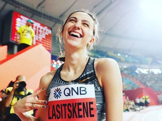 Побеждать ей не мешает даже война со Всероссийской федерацией легкой атлетики