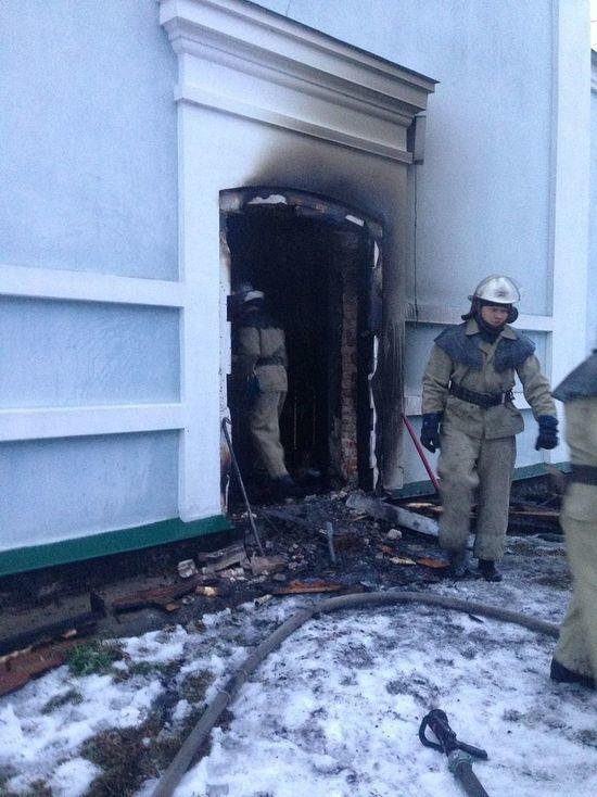 В Петербурге задержали поджигателя храма на Васильевском острове