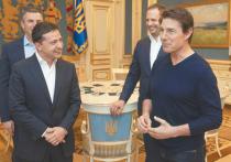 Президент Украины встретился с Томом Крузом