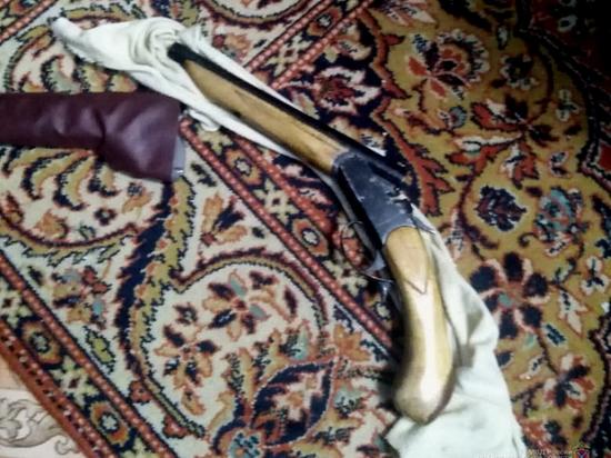 В Волгоградской области у 44-летнего мужчины нашли обрез ружья