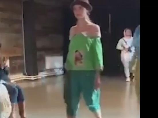 Модельер из Тулуна представила коллекцию одежды из затопленных вещей