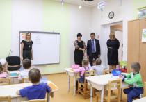 Председатель Воронежской областной Думы, секретарь регионального отделения «Единой России» Владимир Нетёсов посетил новый детский сад № 22