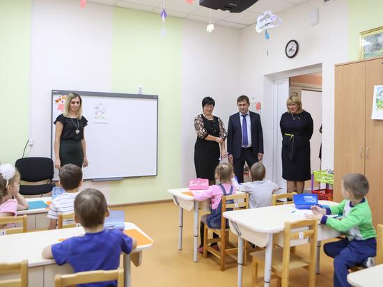 В детсадах Воронежской области созданы 4322 места для малышей от 2 месяцев до 3 лет