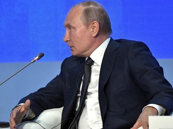 Путин пообещал «вмешаться» в американские выборы: «Только никому не говорите»