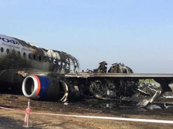 СК пояснил, в чем обвиняет командира сгоревшего в Шереметьево SSJ-100