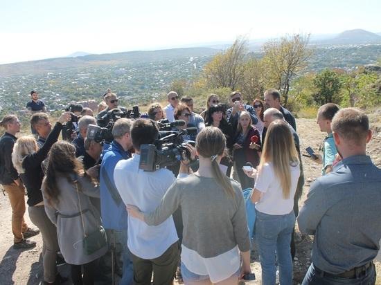 На Ставрополье не допустят экологической катастрофы на горе Горячей