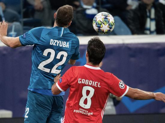Питерский клуб переиграл соперников из Португалии и вышел в лидеры своей группы в Лиге чемпионов.