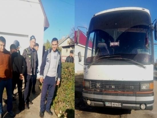 Под Волгоградом задержали 30 нелегальных мигрантов