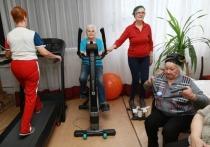 Пожилые люди тоже может и хочет заниматься спортом