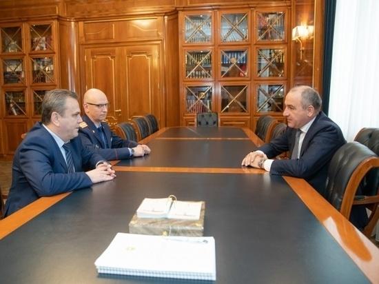 Руководству Карачаево-Черкесии представили нового главу следственного управления